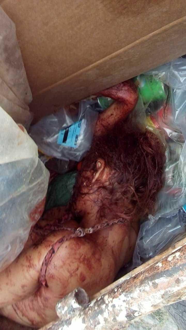 【閲覧注意】ブラジルの若い女性、ヤラれて路上のごみ箱に捨てられる・・・・・(画像)・4枚目