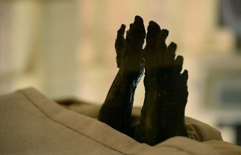【ミイラ画像】10年の歳月をかけて修復されたツタンカーメンの王墓とミイラ、その画像がコチラ!!(画像)・14枚目