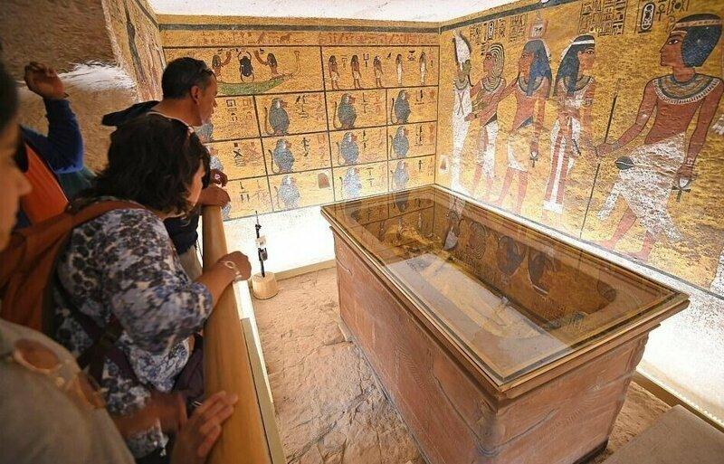 【ミイラ画像】10年の歳月をかけて修復されたツタンカーメンの王墓とミイラ、その画像がコチラ!!(画像)・15枚目
