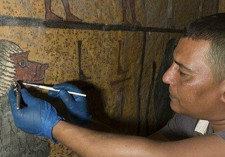 【ミイラ画像】10年の歳月をかけて修復されたツタンカーメンの王墓とミイラ、その画像がコチラ!!(画像)・21枚目