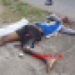 【自業自得】ブラジルのトラック強盗、停車中のトラックを襲おうとしてとんでもない反撃を喰らう!!(画像)