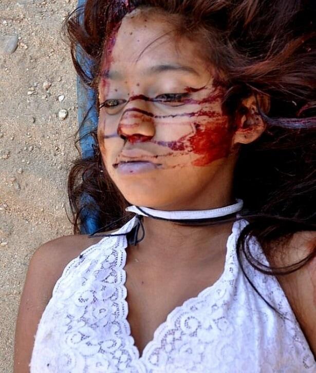 【閲覧注意】16歳の南米系美少女、山中から悲惨な姿となって発見される・・・・・(画像)・4枚目