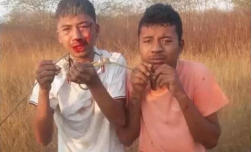 【閲覧注意】ブラジルのギャングに捕まった男2人、短時間のうちにこうなる・・・・・(画像、動画)・1枚目