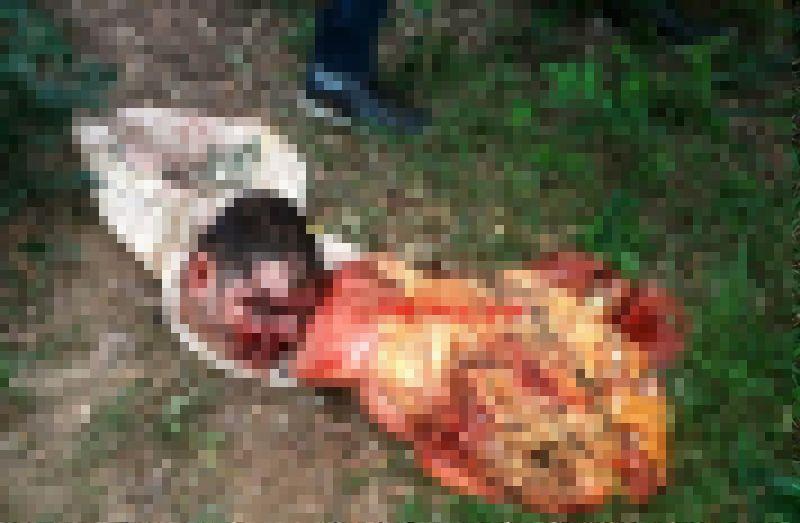 【グロ注意】ブラジルギャングさん、対立グループに拉致され食肉ばりにバラバラに解体される・・・・・(画像)・1枚目