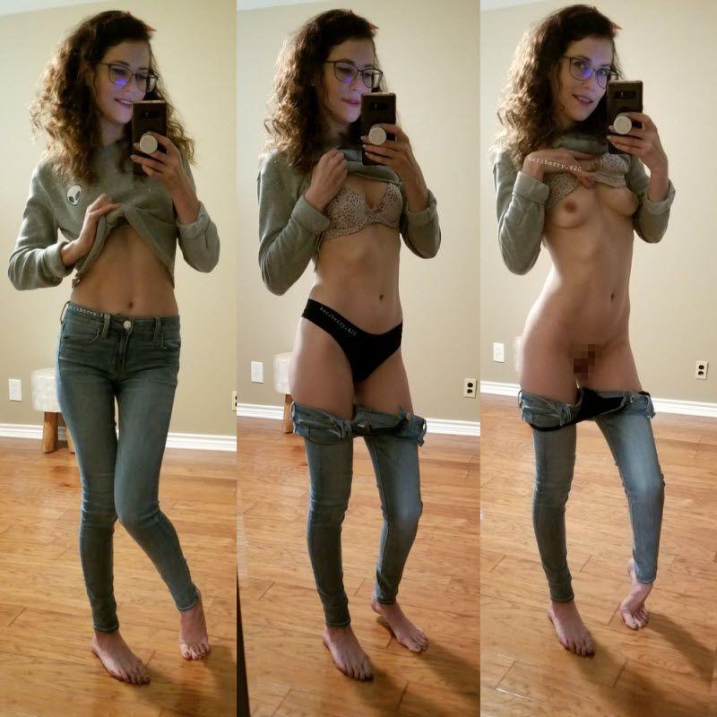 【着衣ヌード比較】自意識高めな外国人まんさんの着衣ヌード比較画像!!(画像)・33枚目