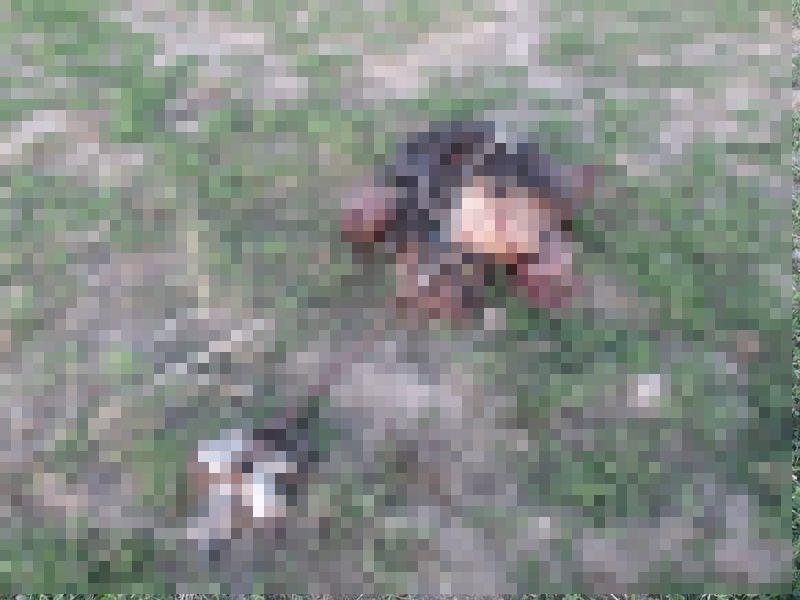 【衝撃】対人じゃなく対戦車地雷を踏んだ人間、木端微塵になる・・・・・(画像)・1枚目