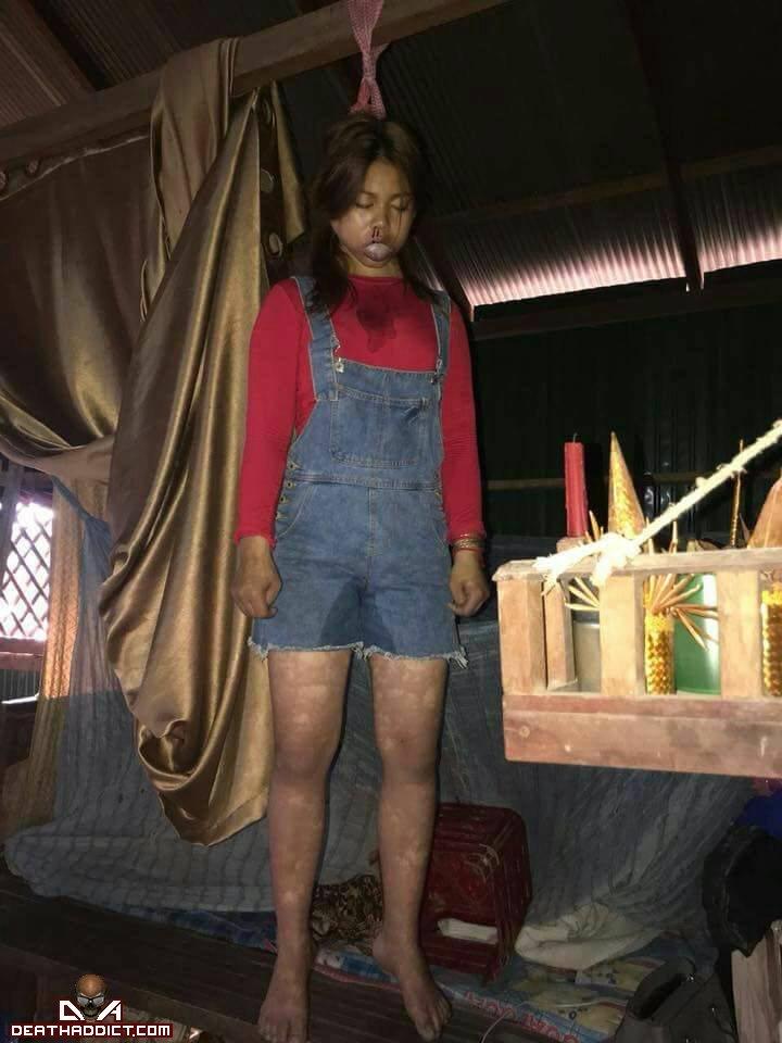 【自殺】16歳カンボジア人美少女、飲酒を母に咎められそのまま酔って自殺・・・・・(画像)・1枚目