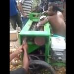 【悲惨】農機具に腕を巻き込まれた男性、住民総出で必死の救出もこれ左腕はもう・・・・・(動画)