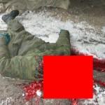 【グロ注意】トラックの車輪を修理中のロシア人男性、過って動いた車輪に頭を潰される・・・・・(画像)