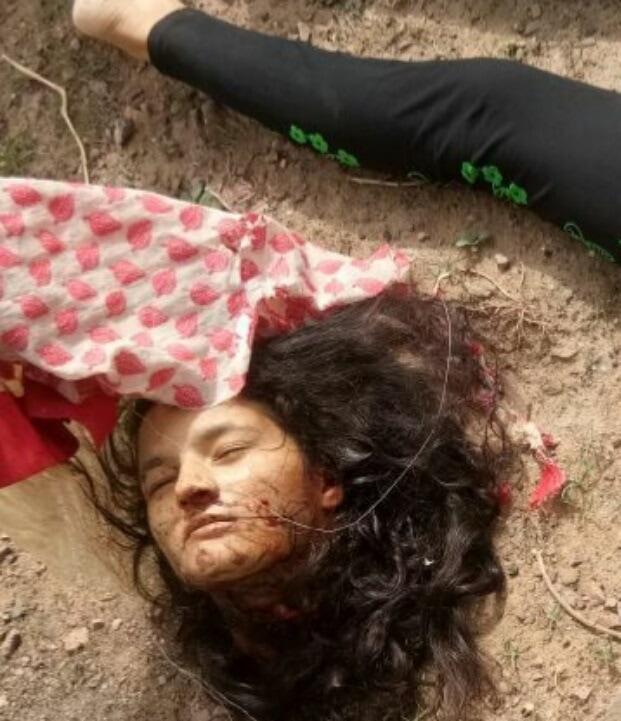 【首チョンパ】インドで鉄道のレールに横たわって自殺した女の子、遺体がキツ過ぎる・・・・・(画像)・1枚目