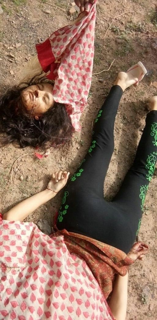 【首チョンパ】インドで鉄道のレールに横たわって自殺した女の子、遺体がキツ過ぎる・・・・・(画像)・4枚目
