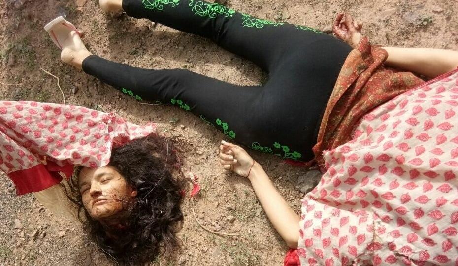 【首チョンパ】インドで鉄道のレールに横たわって自殺した女の子、遺体がキツ過ぎる・・・・・(画像)・5枚目