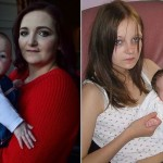 【酷すぎ】12歳でお兄ちゃんにレイプされて出産したイギリス美少女、その後恋人と結婚して新たな子を授かる・・・・・(画像)