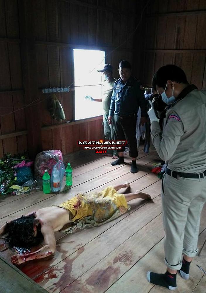 【閲覧注意】カンボジアで発生したレイプ殺人、29歳の美女が自宅でレイプされ遺体で発見される・・・・(画像)・1枚目