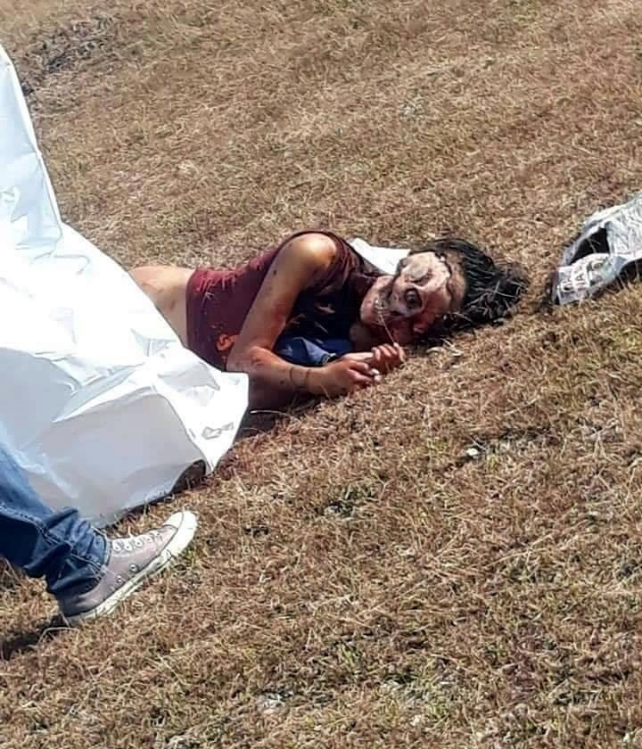 【猟奇殺人】フィリピンで発見された16歳少女のレイプ遺体、何故か頭部が剥がされてる・・・・・(画像)・4枚目