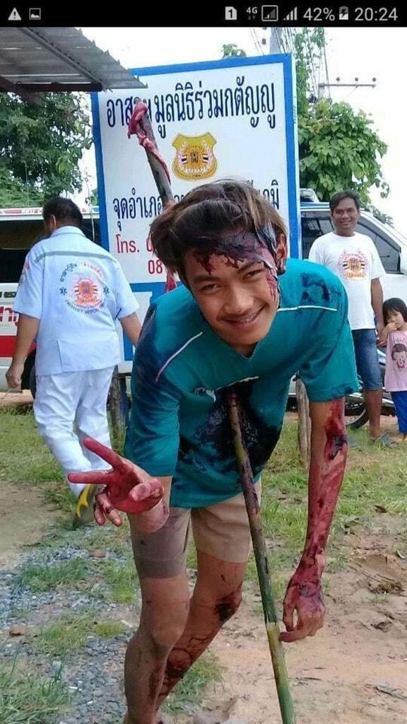 【グロ注意】タイで起こった壮絶な事故現場の画像が・・・・・ってフェイクかよ!!(画像)・3枚目