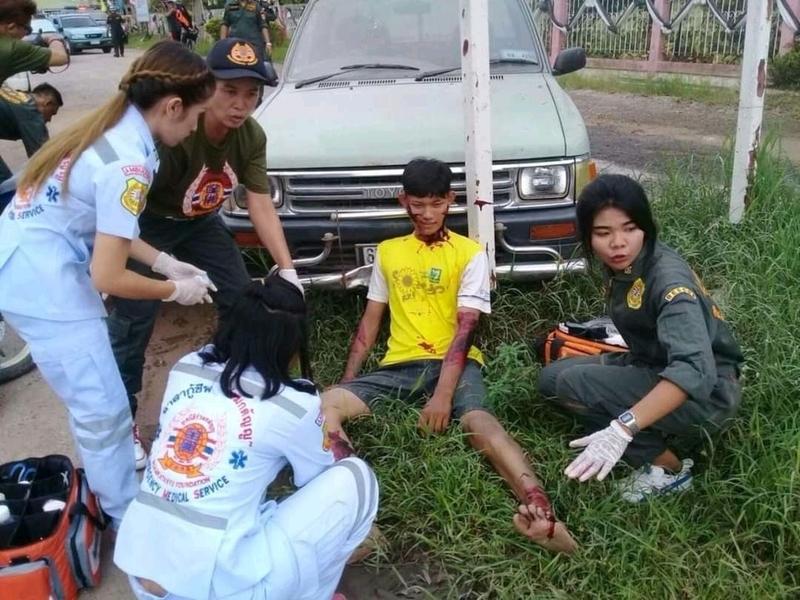 【グロ注意】タイで起こった壮絶な事故現場の画像が・・・・・ってフェイクかよ!!(画像)・4枚目