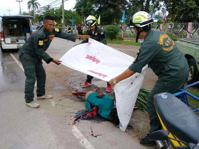 【グロ注意】タイで起こった壮絶な事故現場の画像が・・・・・ってフェイクかよ!!(画像)・5枚目