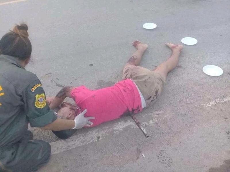 【グロ注意】タイで起こった壮絶な事故現場の画像が・・・・・ってフェイクかよ!!(画像)・6枚目