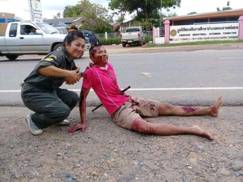 【グロ注意】タイで起こった壮絶な事故現場の画像が・・・・・ってフェイクかよ!!(画像)・7枚目