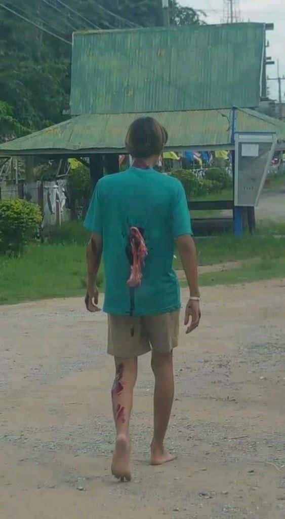 【グロ注意】タイで起こった壮絶な事故現場の画像が・・・・・ってフェイクかよ!!(画像)・9枚目
