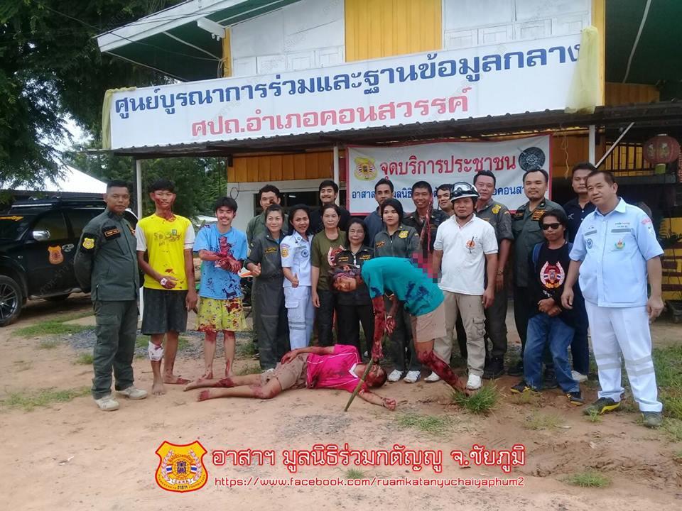 【グロ注意】タイで起こった壮絶な事故現場の画像が・・・・・ってフェイクかよ!!(画像)・10枚目