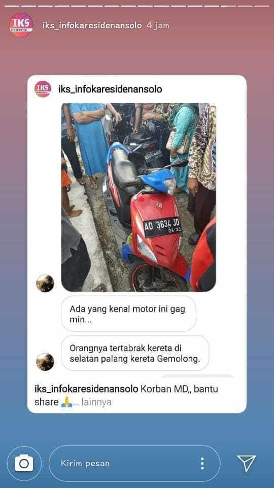 【閲覧注意】時速120kmの列車に撥ねられたインドネシアの男性、全身を強く打って死亡・・・・・(画像)・1枚目