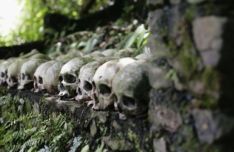 """【自然派】インドネシア バリ島のトルニャン村に伝わる""""風葬""""という埋葬方法、凄い光景・・・・(画像)・7枚目"""