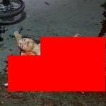 【閲覧注意】バイク事故で全身を強く打った女性、一瞬でバラバラ遺体になる・・・・・(画像)