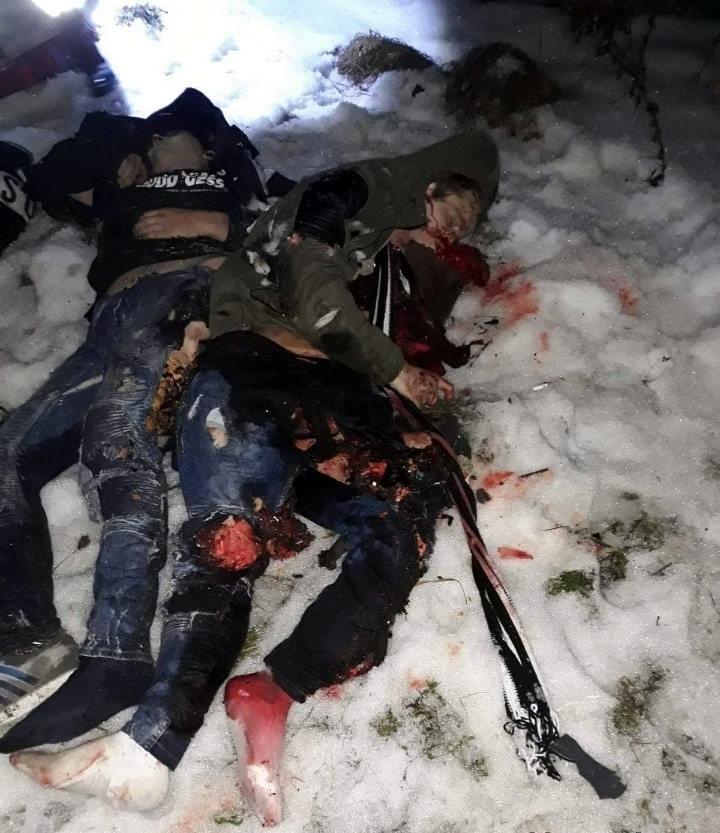 【飲酒事故】雪上で飲酒運転してたルーマニアの若者、クラッシュして乗員5人全員死亡・・・・・(画像)・1枚目