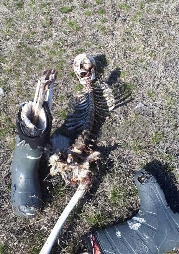 【無残】真冬のロシアで違法に国境を越えようとした男性、春になってこんな姿で発見される・・・・・(画像)・2枚目