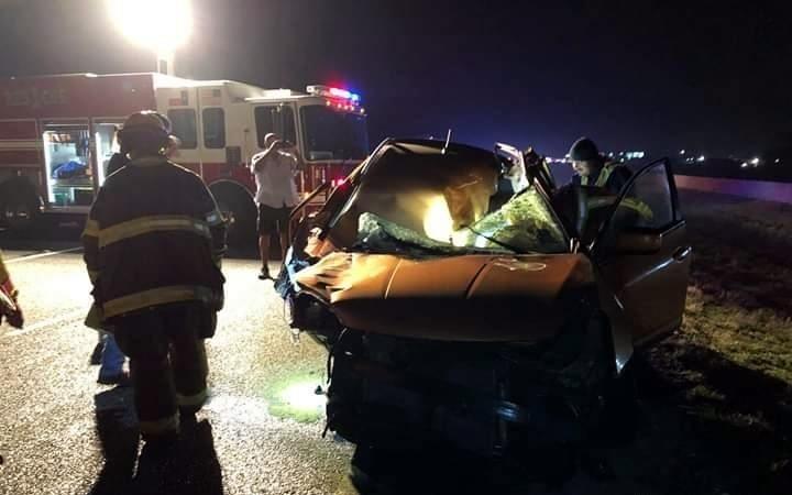 【グロ注意】アメリカで起きた高速でのクラッシュ事故、シートベルトで一命は取りとめたものの・・・・・(画像)・2枚目
