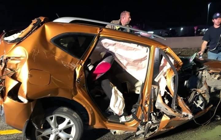 【グロ注意】アメリカで起きた高速でのクラッシュ事故、シートベルトで一命は取りとめたものの・・・・・(画像)・3枚目