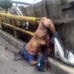 【コンテナ崩落現場】輸送用鋼鉄コンテナの崩落事故、これ作業員はガチで一たまりも無いな・・・・・(動画)