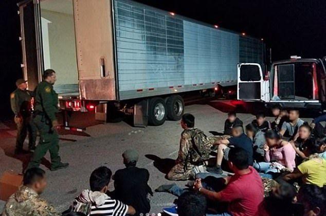 【密入国摘発】メキシコからの不法移民35名、X線スキャンを知らずに一網打尽になる・・・・・(画像)・4枚目