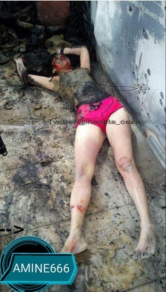 【女性兵士レイプ】ISISに生きたまま捕らえられたクルド人女性兵士、漏れなくレイプされ殺される・・・・・(画像)・5枚目