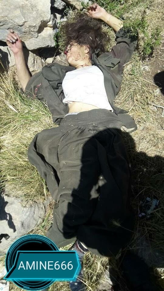 【女性兵士レイプ】ISISに生きたまま捕らえられたクルド人女性兵士、漏れなくレイプされ殺される・・・・・(画像)・9枚目
