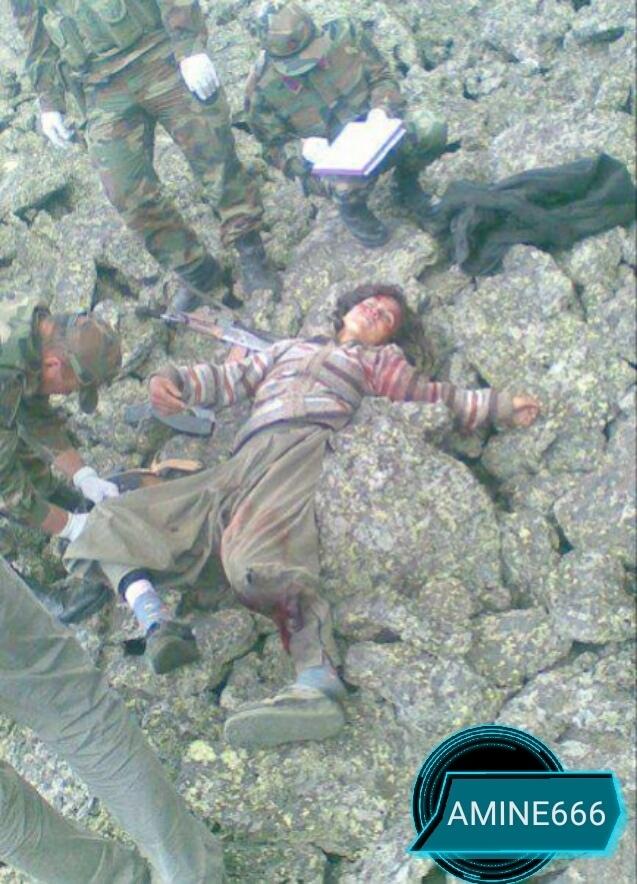 【女性兵士レイプ】ISISに生きたまま捕らえられたクルド人女性兵士、漏れなくレイプされ殺される・・・・・(画像)・11枚目