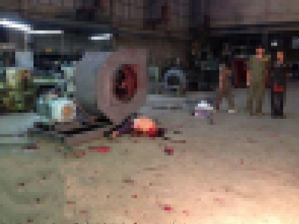【木端微塵】巨大送風ファンの修理中巻き込まれた作業員男性、一瞬で挽肉にされる!!(画像)・4枚目