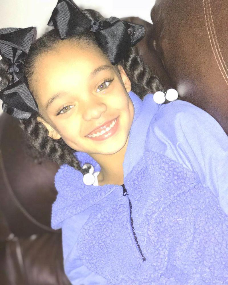 【本人公認】歌手のリアーナにそっくりな7歳の子役モデル美少女、確かに顔の作りそっくり!!・1枚目