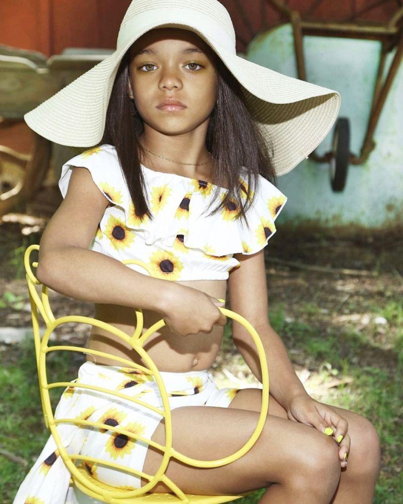 【本人公認】歌手のリアーナにそっくりな7歳の子役モデル美少女、確かに顔の作りそっくり!!・3枚目