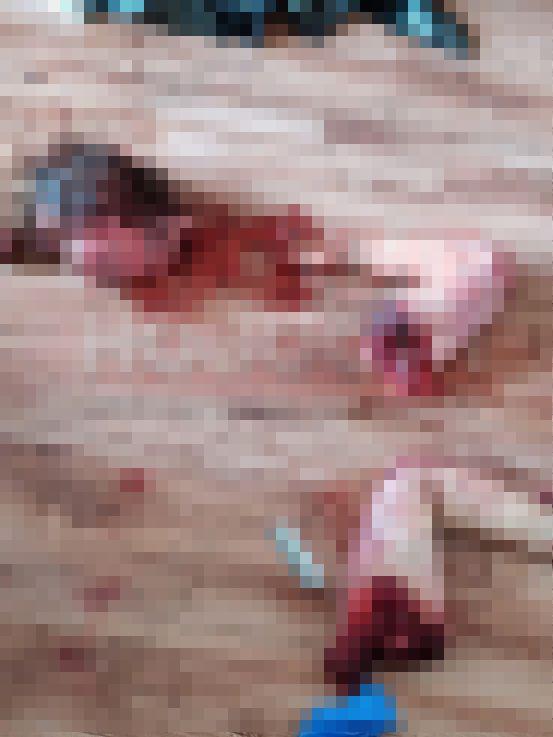 【グロ注意】ロシアのアル中男性、酒に酔って彼女を殺しバラバラに切断した狂気の画像!!(画像)・3枚目