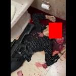 【グロ注意】バスルームで自らの頭をショットガンで撃ち抜いた女性、頭が破裂する・・・・・(動画)