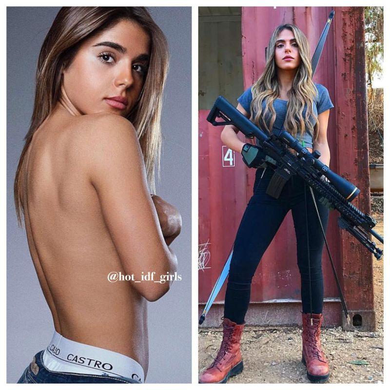 【エロ兵士】美しすぎるイスラエル軍女性兵士の軍服比較画像、ぜひ捕虜にして欲しいな!!(画像)・1枚目