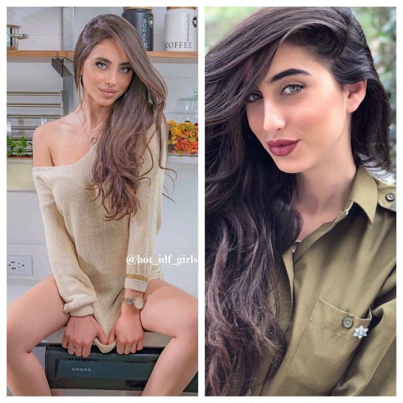 【エロ兵士】美しすぎるイスラエル軍女性兵士の軍服比較画像、ぜひ捕虜にして欲しいな!!(画像)・3枚目