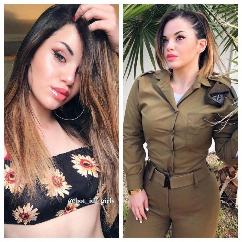 【エロ兵士】美しすぎるイスラエル軍女性兵士の軍服比較画像、ぜひ捕虜にして欲しいな!!(画像)・5枚目