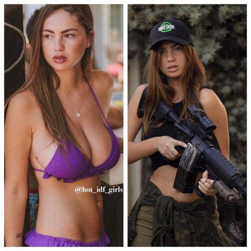 【エロ兵士】美しすぎるイスラエル軍女性兵士の軍服比較画像、ぜひ捕虜にして欲しいな!!(画像)・6枚目