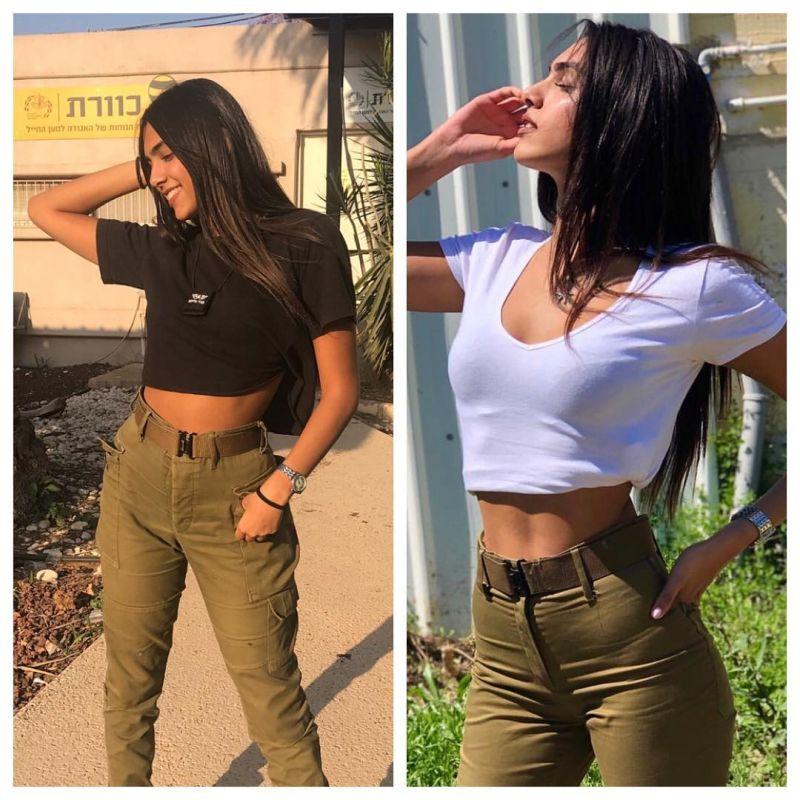 【エロ兵士】美しすぎるイスラエル軍女性兵士の軍服比較画像、ぜひ捕虜にして欲しいな!!(画像)・9枚目