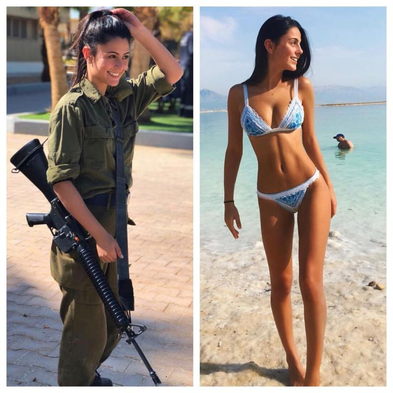 【エロ兵士】美しすぎるイスラエル軍女性兵士の軍服比較画像、ぜひ捕虜にして欲しいな!!(画像)・30枚目