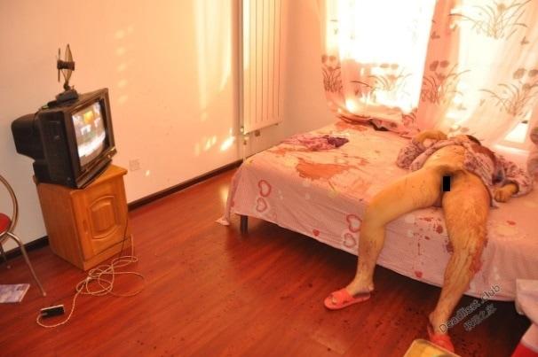 【レイプ遺体】中国の美人女性、自宅でレイプされた上にメッタ刺しにされた状態で発見される・・・・・(画像)・3枚目